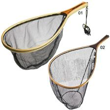 LANDING NET RACKET RON THOMPSON WOODEN NETS