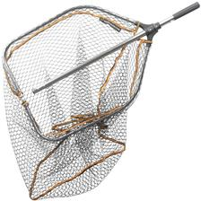 LANDING NET SAVAGE GEAR PRO FOLDING RUBBER LARGE MESH LANDING NET