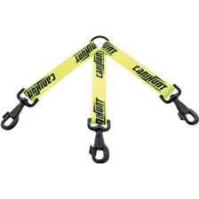 LEAD CANIHUNT 3 DOGS FLAT STRAP