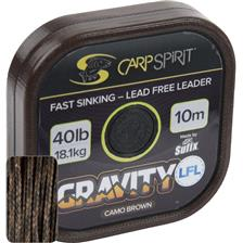 LEAD CORE CARP SPIRIT GRAVITY LFL BROWN - 10M