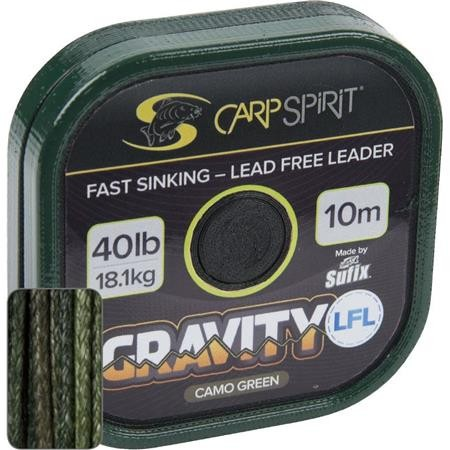 LEAD CORE CARP SPIRIT GRAVITY LFL GREEN 10M