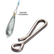 LEAD QUICK LINK MUSTAD - PACK OF 10