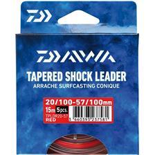 LEADER DAIWA ARRACHE SURF TAPER LEADER - PACK OF 5