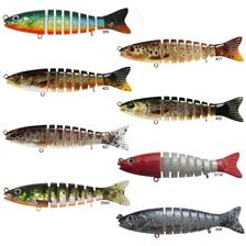 Lures BC Lures SEGMENT TROUT 11CM FIRE