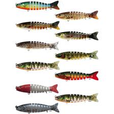 Lures BC Lures SEGMENT TROUT 14CM RED WHITEA