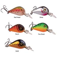 Lures D.A.M EFFZETT FINESSE BABY BOOMER 2.3CM RED HEAD