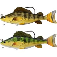 LEURRE COULANT LIVE TARGET YELLOW PERCH - 11.5CM