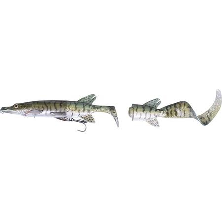 LEURRE COULANT SAVAGE GEAR THE 3D HYBRID PIKE - 17CM