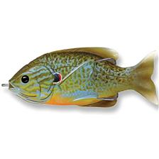 LEURRE DE SURFACE LIVE TARGET SUNFISH HOLLOW BODY - 9CM