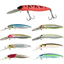 POWER MINNOW F DR 12CM HIGH HG RED HEAD