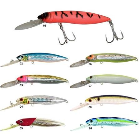 LEURRE FLOTTANT ADAM'S POWER MINNOW F DR - 12CM