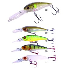 Lures Hart ECHO BOTTOM 66MM NATURAL