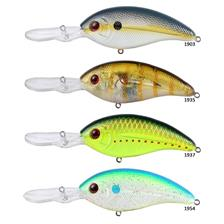 Lures Livingstone Lures DEEP IMPACT 8CM #1903 - CHARTREUSE SHAD