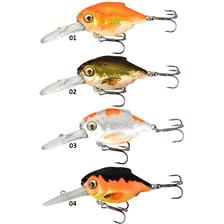 Lures Savage Gear 3D CRUCIAN CRANK 6.5CM 03 DR - PEARL WHITE SILVER