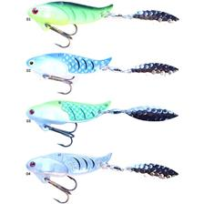 Lures Blitz Lures FIRE TAIL 7G SILVER PRIZM