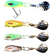 Lures Blitz Lures TAIL SPIN 21G EMERALD SHINER