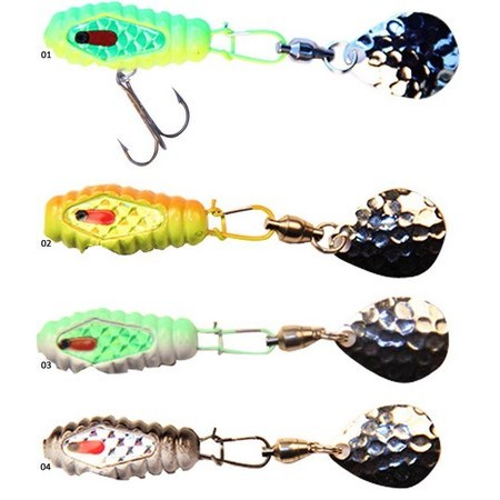 LEURRE LAME BLITZ LURES TAIL SPIN - 21G