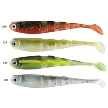 LEURRE SOUPLE AMS SHAD MULTI SECTION - 9CM - PAR 6