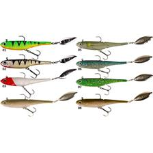 Lures D.A.M EFFZETT KICK S MINNOW 25CM PERCH