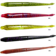 Lures Black Flagg LIQUIDD FINESS WORM 12.5CM TOMATO RED FLASKES
