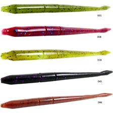 LIQUIDD FINESS WORM 12.5CM GREEN PUMPKIN SHAD