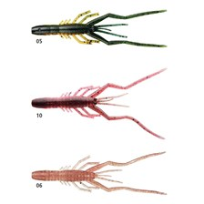 Lures Daiwa BUBBLE SHRIMP 11.5CM PUMPKIN WATER MELON