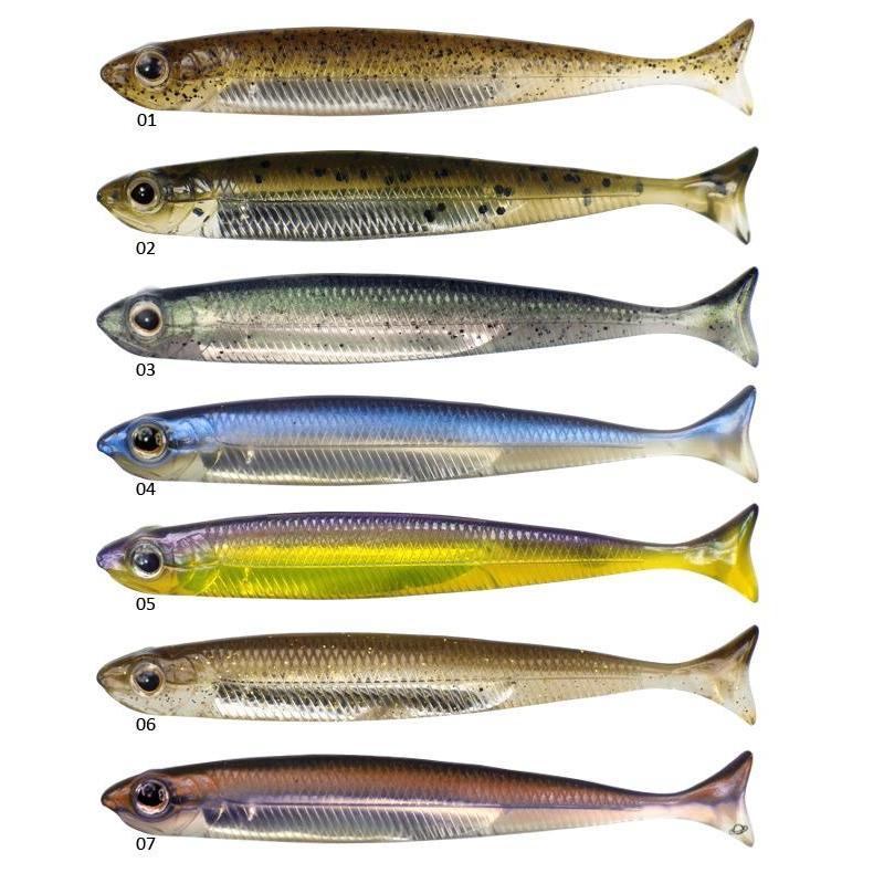 Leurre souple fish arrow flash j huddle 7 6cm par 7 for J and j fish