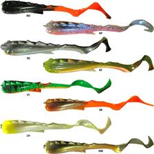 Lures Fishkix BULL BEAST 20CM BO - BLACK ORANGE