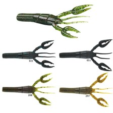 "Lures Gary Yamamoto FAT BABY CRAW 3""3/4 FAT BABY CRAW 33/4 COLORIS 208"