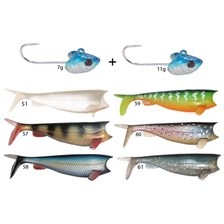 COMBO ABSOLUT SHAD 8CM COLORIS 51