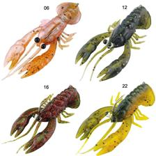 Lures River2Sea STAND N YABBIE 8CM COOKED CRAW