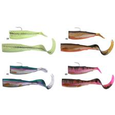 CUTBAIT HERRING SPARE TAILS 25CM GREEN GLOW