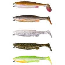 Lures Savage Gear FAT T TAIL MINNOW BULK 7.5CM FLUO GREEN SILVER