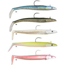 LEURRE SOUPLE SAVAGE GEAR SALTWATER SANDEEL LURES - 16CM - PACK