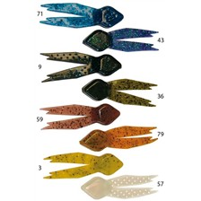 Lures Sizmic LITTLE DILL COLORIS 9