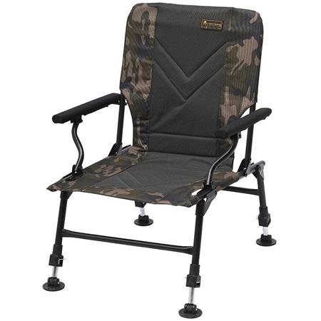 LEVEL CHAIR PROLOGIC AVENGER RELAX CAMO CHAIR W/ARMRESTS & COVERS