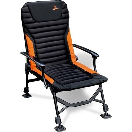 LEVEL CHAIR QUANTUM RADICAL CARP CHAIR SESSION CHILLER - NOIR ORANGE
