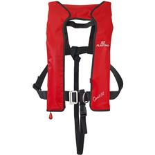 LIFEJACKET PLASTIMO WITH HARNESS QUICKFIT - RED