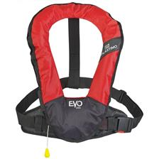 LIFEJACKET PLASTIMO WITHOUT HARNESS EVO 165 - RED