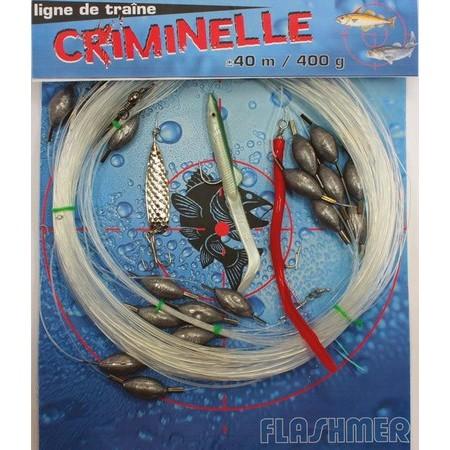 LIGNE DE TRAINE FLASHMER CRIMINELLE