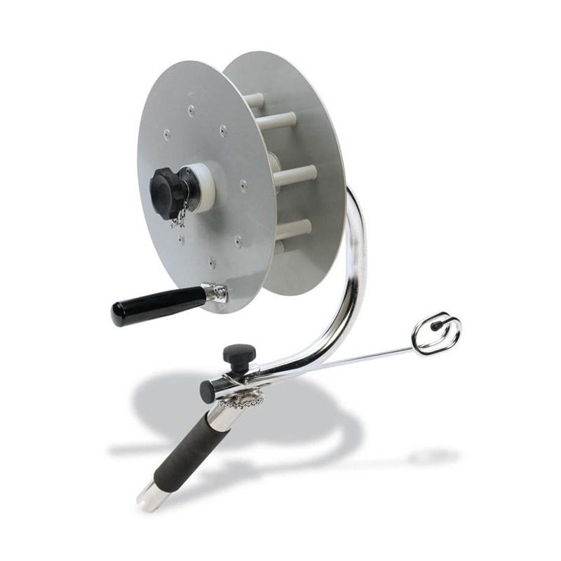 Line winder alu spool seanox 300 for Fishing line winder machine