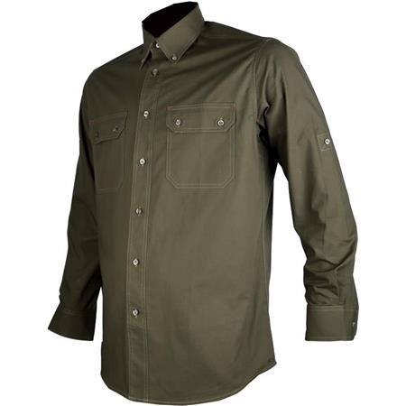 LONG SLEEVED-SHIRT MAN SOMLYS 500 TRANSFORMABLE - GREEN