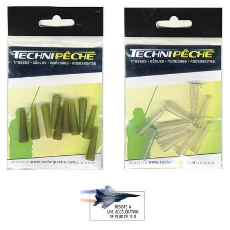 LONG TACKLE CONNECTOR TECHNIPÊCHE - PACK OF 10