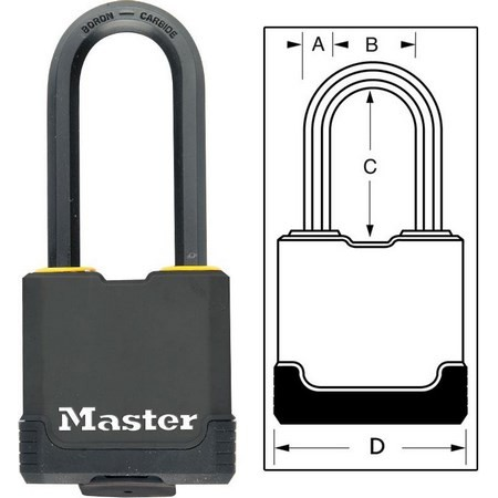 LUCCHETTO MASTER LOCK EXCELL