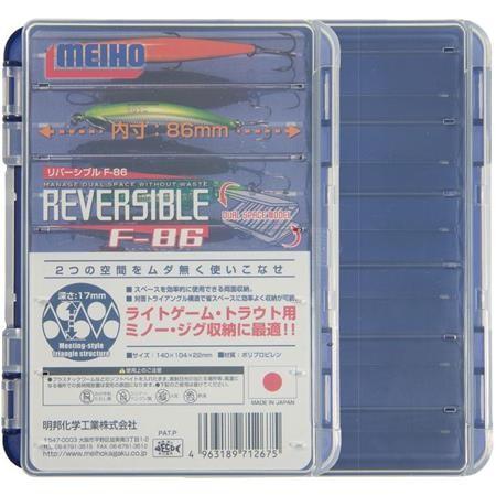 LURE BOX MEIHO REVERSIBLE F 86