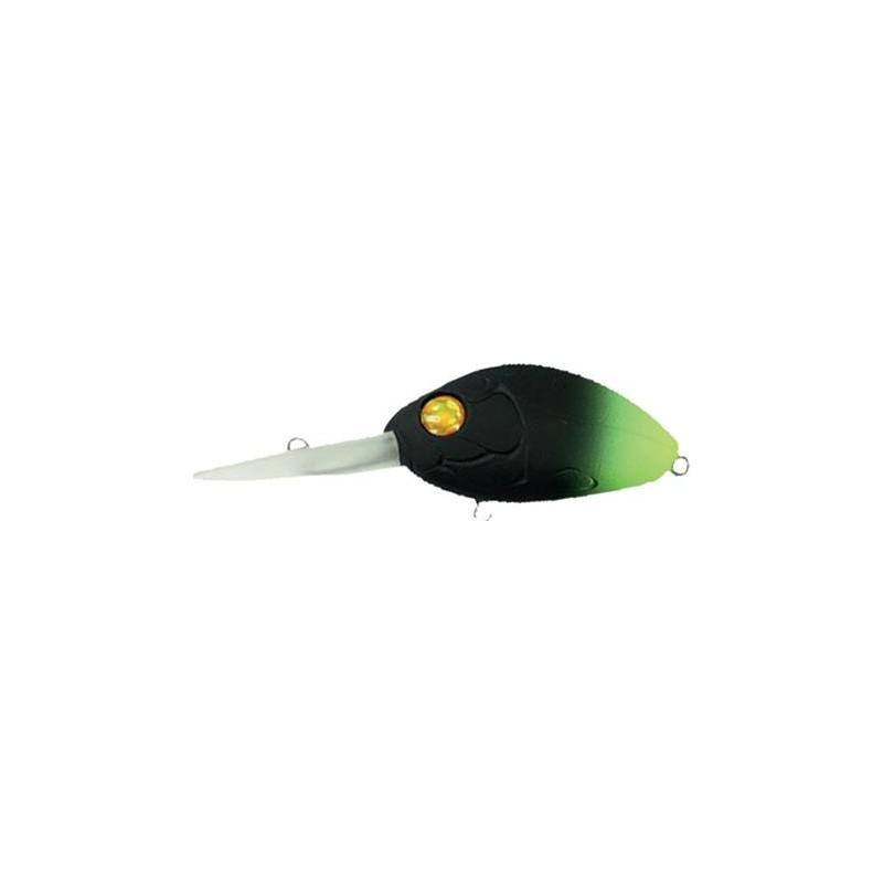 Lures Damiki CRANKBAIT DC100 13G 5.5CM GREEN TAIL/BLACK