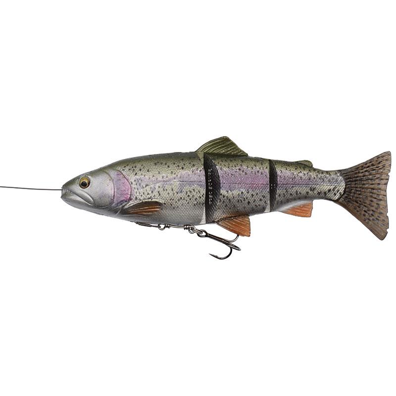 Lures Savage Gear 4D LINE THRU TROUT 20CM 01 SS - RAINBOW