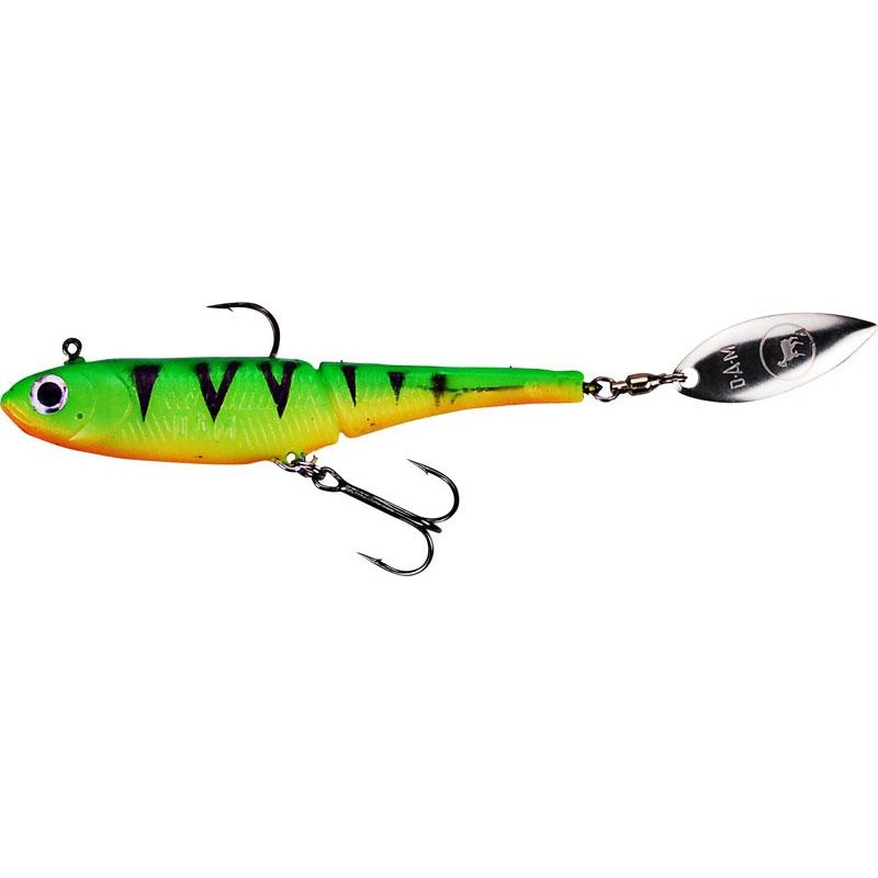 Lures Effzett KICK S MINNOW 14.5CM FIRE SHARK