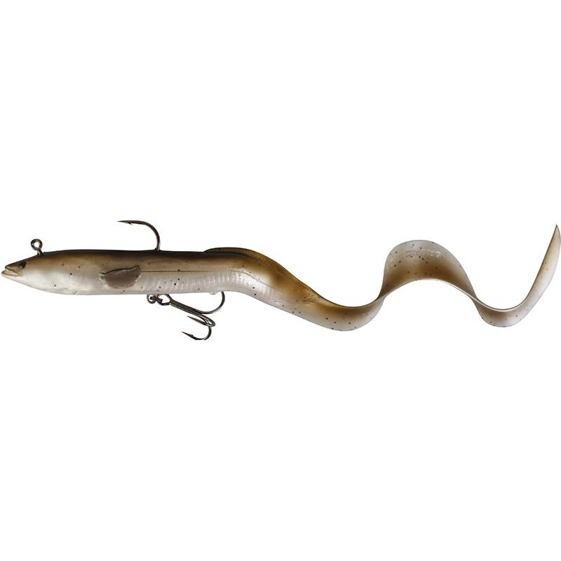REAL EEL READY TO FISH 30CM 02 OLIVE PEARL