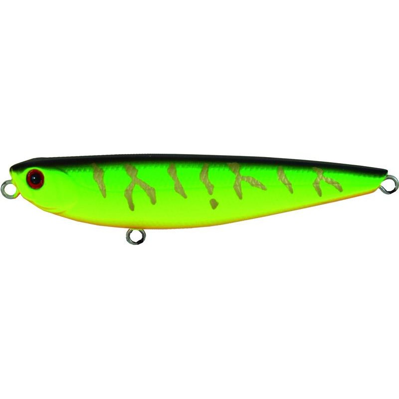 Leurres Adam's PENCIL 60 MAT CHARTREUSE TIGER
